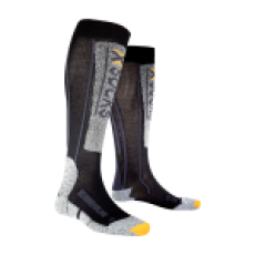 X-Socks, Adrenaline ski-kous, unisex, black-anthracite