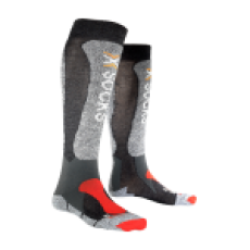 X-Socks, Skiing Light ski-kous, unisex, anthraciet grijs